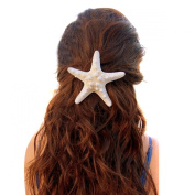 MERSUII™Stylish Real Starfish Special Sea Lover Hairpin Star Hair Clip for Women Girls
