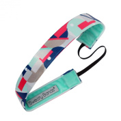 Sweaty Bands Fitness Headband - Mod Squad Pink/Mint 2.5cm Wide