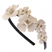 Women Girls Korean Fashion Flower Headband Hairband Elegant Hair Bands Holder Hoop