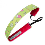 Sweaty Bands Fitness Headband - Fruit Smoothie Green 2.5cm Wide