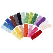 Roewell® Baby's Stretch Headbands Girl's Elastic Headbands DIY Hairband