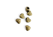 70 Pieces Jewellery Making Charms Pendant Ancient Bronze Colour Retro Findings Supplies GFNLBF1 Love Spacer Loose Beads