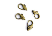 1 Piece Jewellery Making Charms Pendant Ancient Bronze Colour Retro Findings Supplies GAQ1BF1 Dolphin Lobster Clasp