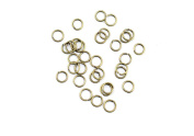 Price per 1180 Pieces Jewellery Making Charms BUQD0 Jump Rings Ancient Bronze Findings Craft Supplies Bulk Lots