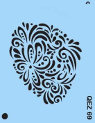 Face Painting Stencil - QuickEZ/Doily #69