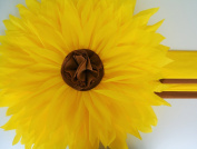 How to Yellow and Brown Flower Crepe Paper Yellow Brow Art Project Tissue Paper Flower Crepe Paper