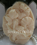 Creativemoldstore 1pcs New Style Lotus Angel(Z16) Craft Art Silicone Soap Mould Craft Moulds DIY Handmade Soap Mould