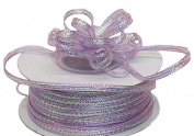 "3mm-1/8"" Organza Pull Bow Ribbon Lavender 50yd"