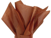 Raw Sienna Tissue Paper 50cm X 80cm - 48 Sheets Pack