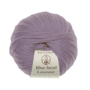 Woolyknit Blue Faced Leicester |100% Wool Light Worsted Hand Knitting Yarn, 50g Balls
