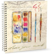 Punch Studio Large Wire-bound Sketchbook - Leave Your Mark