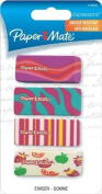 Paper Mate Expressions Decorated Erasers