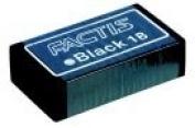 Factis 6.4cm x 3.2cm . Magic Latex-Free Eraser - Black, Pack 18