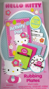Hello Kitty Activity Pad and Rubbing Plates