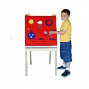 Beka 04701 Felt Panel - Fire Engine Red