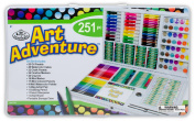 Royal Brush Manufacturing Company Art Adventure 251-Piece Art Set
