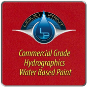 Bright Red Hydrographics Paint - 0.9l - Water Based - Liquid Print Hydrographics Paint Supplies