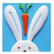 [Bunny & Carrot] 3D Paint-By-Number Kits DIY Painting Crafts for Kids Over 5Years