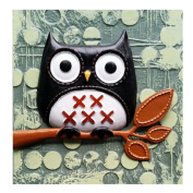 [Cool Owl] 3D Cartoon Paint-By-Number Kits Kids DIY Painting Crafts,Over 5Years