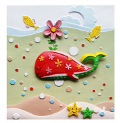 [Under the Sea] 3D Cartoon Paint-By-Number Kits Kids DIY Painting Crafts,Over 5Y