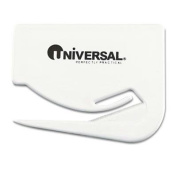"""Universal - 8 Pack - Letter Slitter Hand Letter Opener W/Concealed Blade 6.4cm White 3/Pack """"Product Category"""