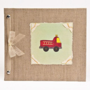Hugs and Kisses XO Fire Engine Baby Memory Book