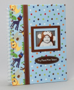Baby Essentials Blue Jungle Memory Book My First Five Years