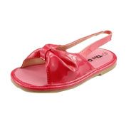 Comfy Soft Material Baby Girl's Summer Open Toe Sandal Shoes Toddler Size