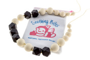 Soothing Bites Amala - Silicone Bead Teething Necklace For Mom - BPA Free Food Grade Silicone To Soothe Baby Gum Pain