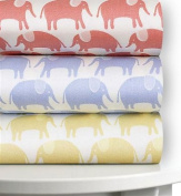 Magnolia Organics Printed Crib Sheet - Standard, Roxy