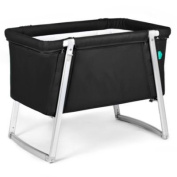 babyhome Dream Bassinet in Black
