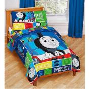 THOMAS TRAIN 4PC Toddler Bedding Set, NEW, Thomas and Friends, Steam Engine, Crib Mattress size Bedding