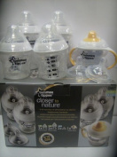 Tommee Tippee Closer to Nature Bottle Feeding Starter Set 0m+ Bpa Free