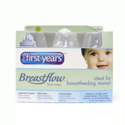 3 X 150ml the First Years Breastflow Bottles NEW BPA Free