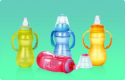 1 NEW Nuby 3 Stage Non-drip Baby Infant Bottle 330ml