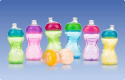 2 NEW Nuby No Spill 300ml Super Spout Sippy Easy Gripper Cups BPA Free