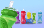 1 NEW Nuby Sippy Cup No Spill Sports Sipper Straw 300ml