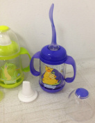 New Nuby Infant Infa Feeder Feeding Set for Cereal Food 4 Baby Bottles Total