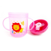 New Sippy Drinking Cup No Spill Design BPA Free 240ml Handles 12m+ Baby Toddler !