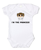 Dittoxpression Star Wars I'm the Princess Unisex Baby Bodysuit