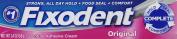 Fixodent Complete Original Denture Adhesive Cream 70ml