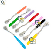 G.S 4 WARTENBERG PIN WHEEL PINWHEEL colour HANDLE
