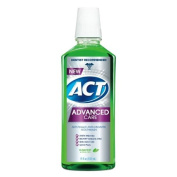 ACT Advanced Care Plaque Guard Mouthwash, Clean Mint 530ml Pack of 3