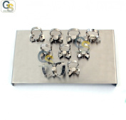 G.S ENDODONTIC RUBBER DAM CLAMP WITH TRAY