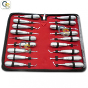 G.S 12 ROOT DENTAL TOOTH ELEVATORS OF YOUR CHOICE