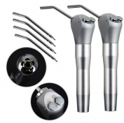 Dental Power 2 NEW 3 WAY Syringe Dental Dentist AIR Water 4 Nozzles