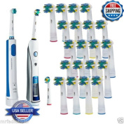 20 PCS Generic Tooth brush Heads Replacement for Braun Oral B FLOSS ACTION NEW