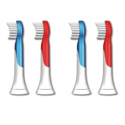 Replacement Philips Sonicare Hx6032/64 Hx6034 Sonicare for Kids Brush Heads, Ages 4+ , 8-pack