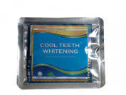 Cool Teeth Whitening® 14 Treatments Advanced Professional 6% Hp Strength Dual Elastic Band Teeth Whitening Gel Strips Kit 28 Pcs - 2 Week Supply + Free Colour Chart Guide Included - Hydrogen Peroxide Tooth Whitestrips By Cool Teeth Whitening®