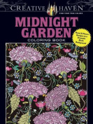 Creative Haven Midnight Garden Coloring Book